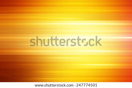 abstract orange background. horizontal lines and strips - stock photo