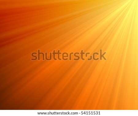 Abstract orange background-magic light