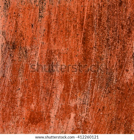 abstract orange background texture cement wall - stock photo