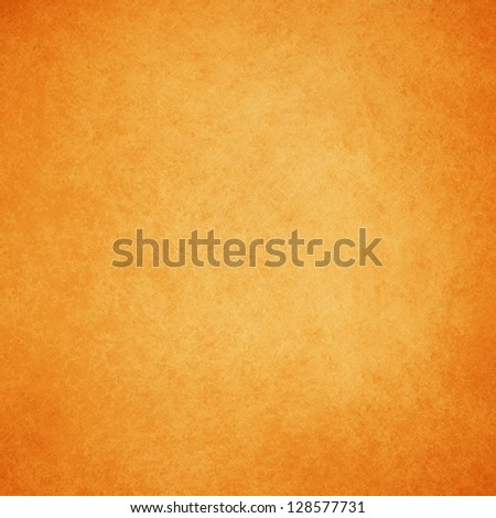 abstract orange background warm yellow color tone, vintage background texture faint grunge sponge design border, orange paper or website template background design layout, fall autumn background image - stock photo