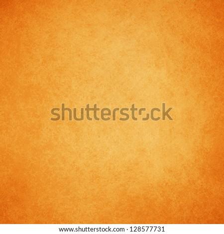 abstract orange background warm yellow color tone, vintage background texture faint grunge sponge design border, orange paper or website template background design layout, fall autumn background image - stock photo