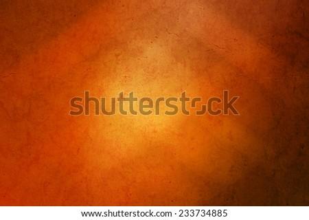 abstract orange grunge gradient background - stock photo
