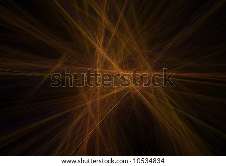 abstract orange lines