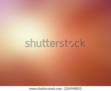 abstract orange peach pink blurred background colors in soft blended design - stock photo