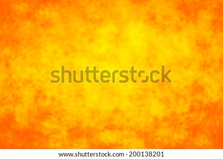 Abstract orange yellow fire sun background - stock photo