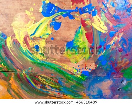 Abstract paint background. colorful background - stock photo
