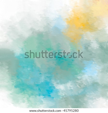 Abstract painted background 1 - stock photo