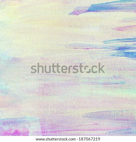 Abstract painted colorful watercolor background. - stock photo