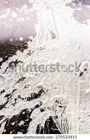 Abstract painted grunge background - stock photo