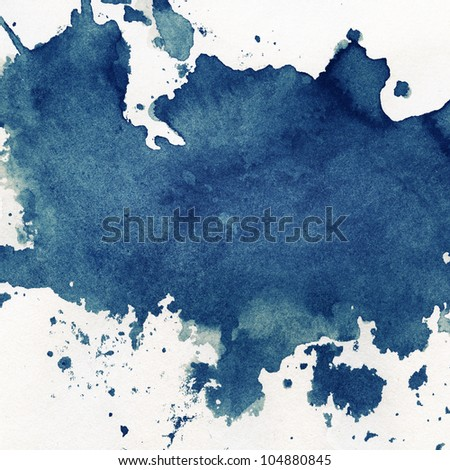 Abstract painted grunge background, ink texture.