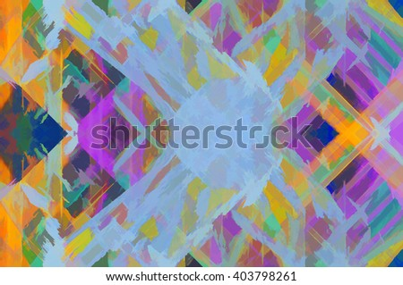 Abstract painted grunge wall