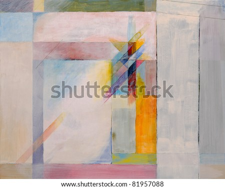 Abstract Painting - stock photo