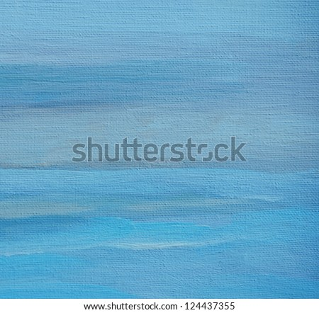 abstract painting by oil on a canvas, illustration,  background - stock photo