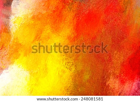 Abstract painting close-up - stock photo