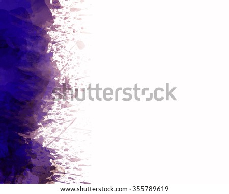 Abstract painting. Colored grunge background - stock photo