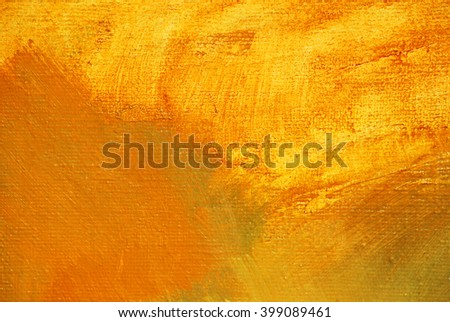 abstract painting on a canvas by oil, illustration, background - stock photo