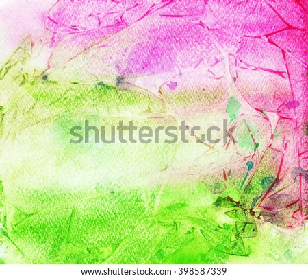 Abstract painting pattern. Bright texture for creative graphic design.   - stock photo