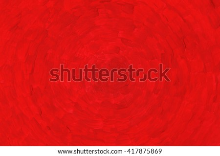 Abstract Painting Red Background