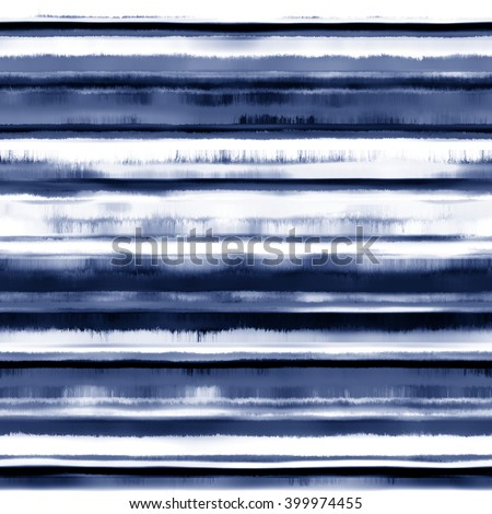 Abstract painting striped seamless pattern. - stock photo