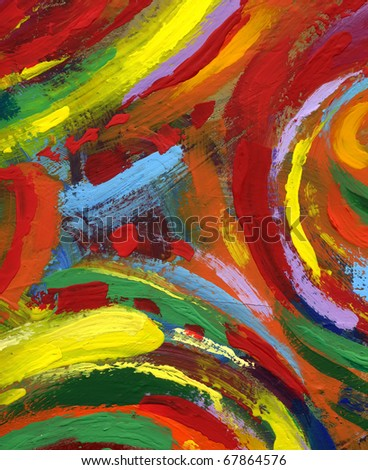 abstract painting texture background - stock photo