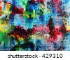 Abstract painting - watercolor by the photographer - - stock photo