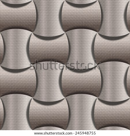 Abstract paneling pattern - Interior wall decoration - wall decorative tiles - seamless background - seamless wallpaper - cloth texture - fabric paneling - canvas surface - Interior coating material - stock photo
