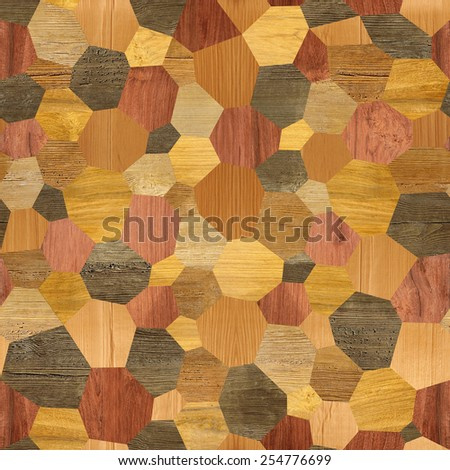 Abstract paneling pattern - seamless background - laminate floor - stock photo