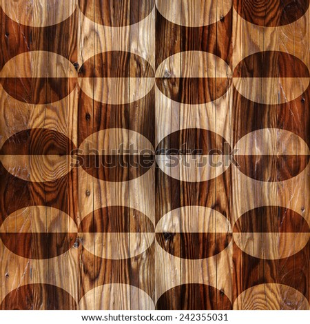 Abstract paneling pattern - seamless background - wood texture - stock photo