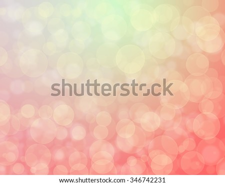 Abstract pastel background bokeh effect - stock photo