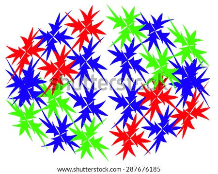 Abstract Pattern - stock photo