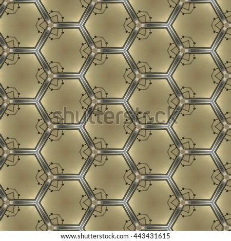 Abstract pattern design background from geometric shape, You can use this pattern background for your fabric pattern or interior wallpaper.