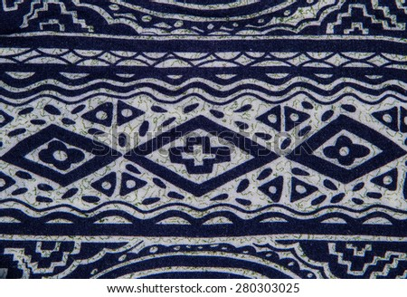 Abstract pattern fabric close up background. - stock photo