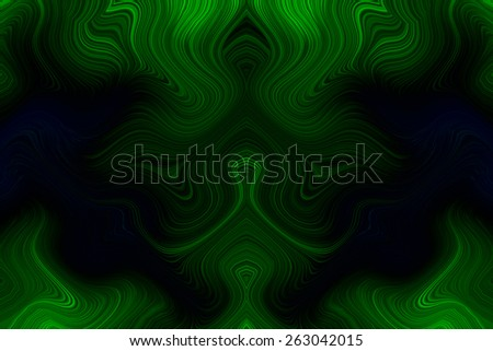Abstract pattern gradient green wave background - stock photo