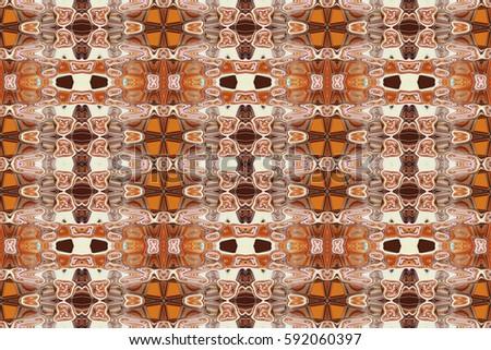Abstract Pattern Kaleidoscope Patterns Fabric Printing Stock ...