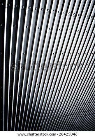 abstract pattern of metal plate - stock photo