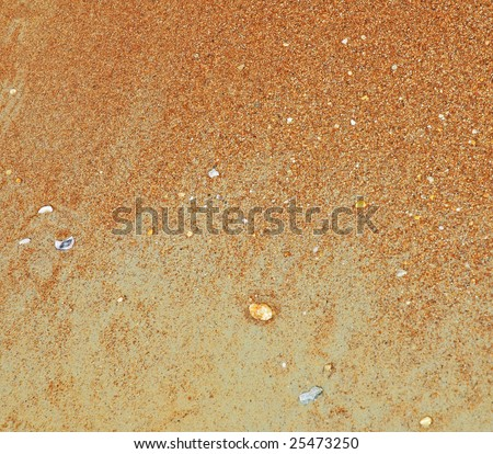 abstract pattern of sand
