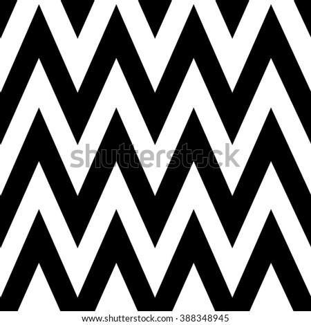 Abstract pattern Retro wallpaper, Pattern in zigzag. Classic chevron seamless pattern. Simple zigzag seamless design. Zig zag black and white - stock photo