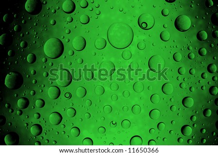 Abstract pattern with bubbles