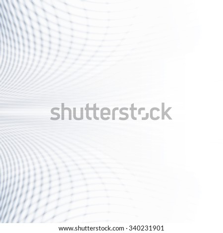Abstract perspective background with white & grey tones - stock photo