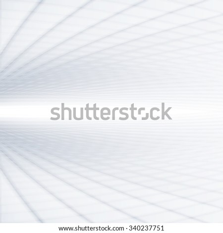 Abstract perspective background with white & grey tones. - stock photo