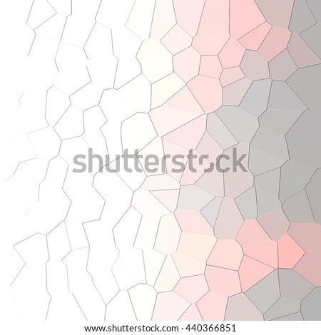 Abstract pink and gray geometric pattern background - stock photo