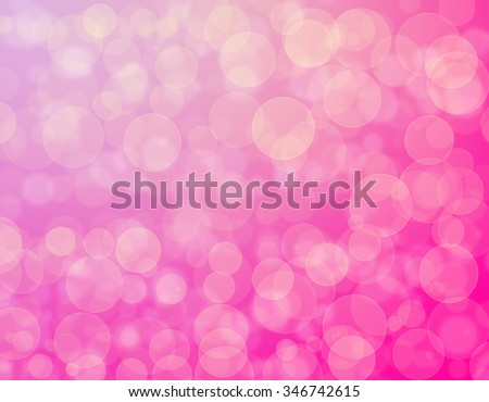 Abstract pink background bokeh effect - stock photo