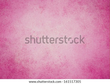 abstract pink background Christmas color white center dark frame, soft faded sponge vintage grunge background texture design, graphic art use in product design web template brochure ad, pink paper  - stock photo