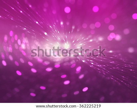 abstract pink background. explosion star. - stock photo