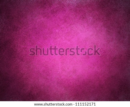 abstract pink background or purple paper with bright center spotlight and black vignette border frame with vintage grunge background texture pink paper layout design of light colorful graphic art - stock photo