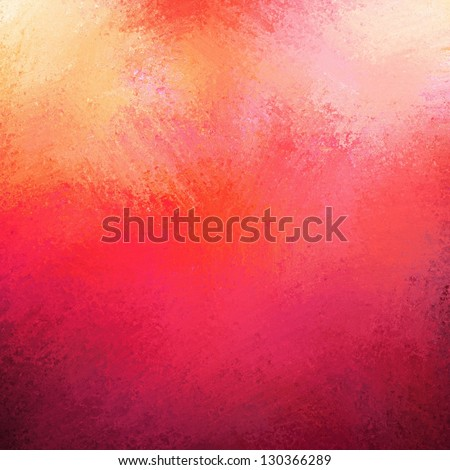 abstract pink background, red purple bright colorful background with vintage grunge background texture gradient design or warm hot background invitation or web template, blotchy paint wall canvas - stock photo