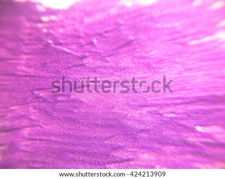 Abstract pink background, smeared nail polish - stock photo