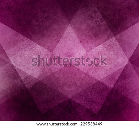 abstract pink background white striped pattern and blocks in diagonal lines with vintage pink purple and black texture - stock photo