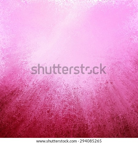 abstract pink background with streaked rays of burgundy grunge on bottom border, gradient pink background with soft light and elegant design with copyspace for typography or text on top border - stock photo