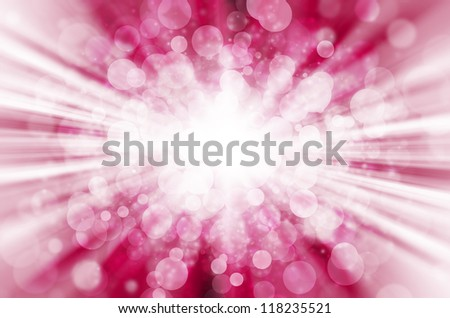 abstract pink bokeh light background. - stock photo